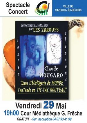 Les Zbroufs chantent Claude Nougaro