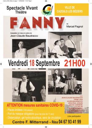 Pièce de théâtre - Fanny - Compagnie Baudracco