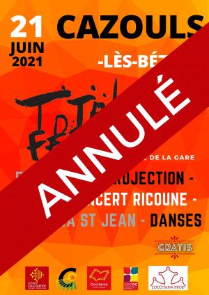 ANNULÉ - Total Festum