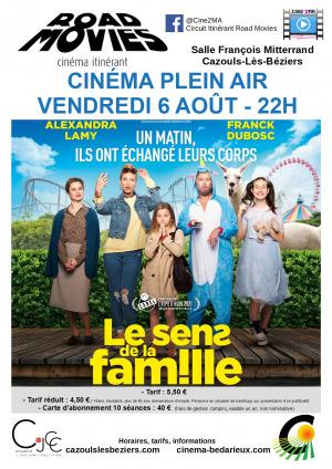 """Ciné itinérant - """"Le sens de la famille"""""""