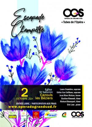 Concert Opéra - Escapade champêtre / Tubes de l'Opéra